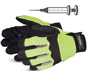 Gants anti piqûre - Protection totale main (la paire)