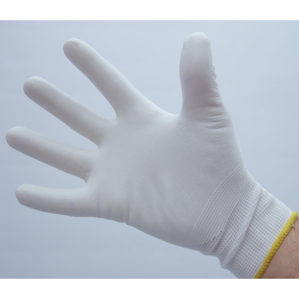 Faience Cuisine Blanche : Gants textile contact alimentaire qualité pro taille