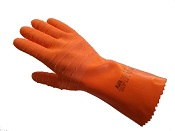 Gants latex long manipulations agressives (la paire)