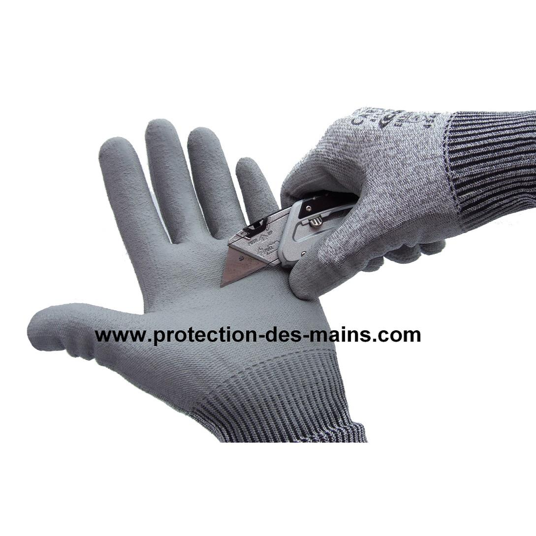 gants anti coupure niveau 5 qualit pro taille 8. Black Bedroom Furniture Sets. Home Design Ideas