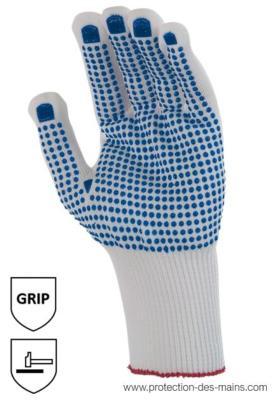 10-50 Paire PICOSTAR-textile gant avec rien Taille 10 Gants de travail