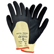 Gants anti coupure Kevlar enduction Nitrile (la paire)