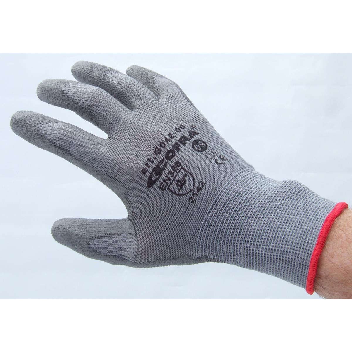 gants de travail seconde peau qualit pro taille 10. Black Bedroom Furniture Sets. Home Design Ideas